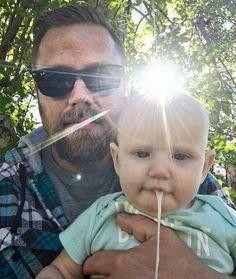 "From the @Lifeofdad Instagram Feed:   ""Selfie time. Nailed it.""  - user @peterrvelonis"