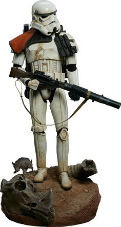 Star Wars Sandtrooper Premium Format(TM) Figure by Sideshow | Sideshow Collectibles