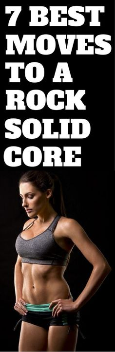 7 exercises to rock solid abs.