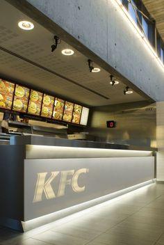 Minimal KFC Restaurant