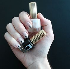 Chic mani - who says nail art isn't #officeappropriate?