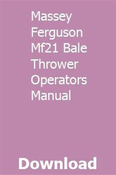 Ford Dearborn Model 16-4 Corn Picker Operators Manual