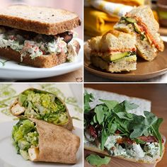 great sandwich ideas for picnicking (from Big Girls Small Kitchen)