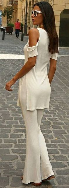 #summer #trending #outfits |  All White Everything