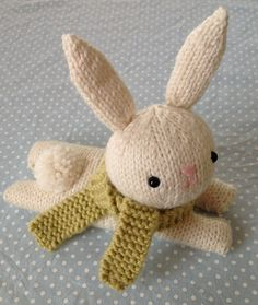 Ravelry: Bunny Knit Pattern pattern by Amy Gaines