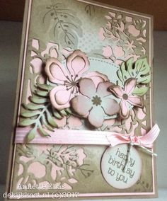 Shabby Vintage with Botanical Blooms