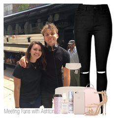 """""""Meeting Fans with Ashton - LA"""" by cliffornax ❤ liked on Polyvore featuring ban.do, Herbivore, MICHAEL Michael Kors, Giuseppe Zanotti and Black Apple"""