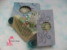 Stamp etching on soap box - SC PaperDesign