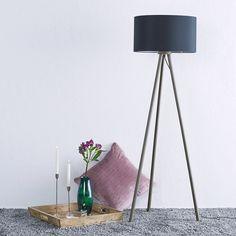 Gulvlampe i tekstil Majken Decor, Lighting, Lamp, Tripod Lamp, Home Decor
