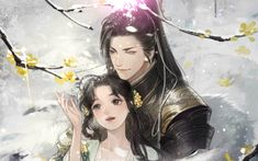 Anime Love, Anime Guys, Anime Japan, China Art, Love Couple, Manga, Chinese Style, Love Story, Art Quotes