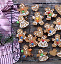 sprø pepperkaker uten sukker Mason Jar Mixes, Mason Jars, Xmas, Christmas, Gingerbread Cookies, Sugar Free, A Food, Desserts, Blog