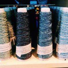 Little maids all in a row at #knitpurl PDX