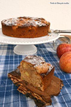 Ponto de Rebuçado Receitas: Bolo de maçã e canela com azeite e aveia