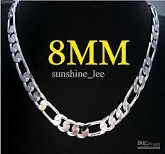 silver jewelry for men-chain style