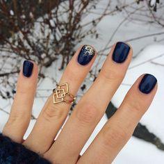 Fancy Nails, Cute Nails, Pretty Nails, Pretty Short Nails, Winter Nail Art, Winter Nails, Nail Colors For Winter, January Nail Colors, Holiday Nails