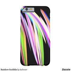 Rainbow Scribble Case-Mate iPhone Case