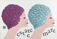 Lora Lamm, La moda si diffonde con - la Rinascente, ca. 1960 - Collezione: Museum für Gestaltung Zurigo, MfGZ È un mondo diversissimo da quello di oggi, forse ormai perduto per sempre, quello evocato dalla mostra su Lora Lamm (Arosa, 1928), grafica pubblicitaria della Rinascente dal 1954 al 1963. Osservando i manifesti, gli inviti, i bozzetti esposti si intuisce l'atmosfera della Milano Anni Cinquanta, centro di cultura aperto alle innovazioni. Si capisce come La Rinascente fosse una cat...