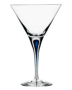 "Orrefors ""Intermezzo"" Martini Glass  designed by Erika Lagerbielke"