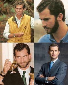 Crown Prince Felipe of Spain and Asturias. He looks better with a beard.