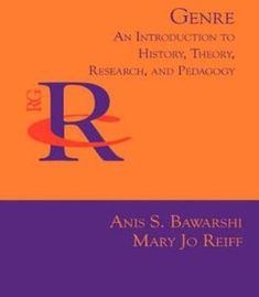 Genre: An Introduction To History Theory Research And Pedagogy PDF