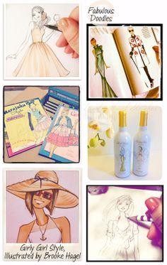 Fabulous Doodles-Fashion Illustration Blog-by Brooke Hagel: Fabulous Doodles' 4th Blogiversary