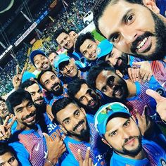 India team members take to social media to express their hapiness after triumph see pics India Cricket Team, World Cricket, Cricket Sport, Team Member, A Team, Indian C, Cricket Wallpapers, India Win, Dhoni Wallpapers