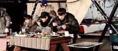 this is all very nice but Tao came here for food… #Tao #EXO <<<<<LOVE THIS X3