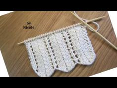 Model ajur in coloana tricotat - Modele de tricotat - YouTube Crochet Top, Make It Yourself, Youtube, House, Towels, Recipes, Dots, Haus, Home