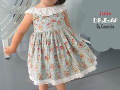 Cosotela: Patrón Julie Dress