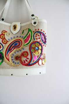 Paisley Sparkle Handbag