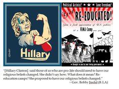 Bobby Jindal on Hillary Clinton