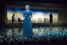 The Lady from the Sea. Birmingham Rep. Scenic design by Mike Britton.