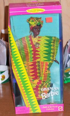 Ghanian Barbie - Dolls of the World Collection