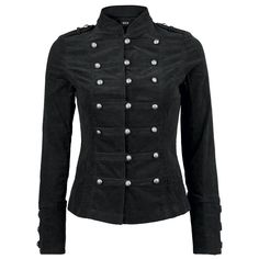 Black Velvet Jacket (Chaqueta Mujer) por H London