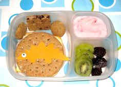 BentoLunch.net - What's for lunch at our house: A Quick Dino Bento with new Gluten Free, Allergy Free Treat