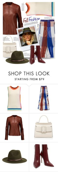 """""""Fall Fashion"""" by sara-cdth ❤ liked on Polyvore featuring Missoni, Marni, Theory, Boyy, Christys' and Gianvito Rossi"""