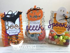 Diy Halloween, Halloween Treats For Kids, Holidays Halloween, Halloween Pumpkins, Halloween 2019, Paper Pumpkin, Holiday Crafts, Unicorn Balloon, Candy Boxes