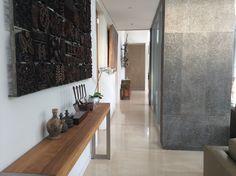 Entry hallway through villa.