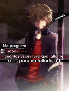 hay pernos que no ñp valoran Anime Triste, Emo Love, Sad Anime Quotes, Sad Heart, Some Quotes, Memes, Kawaii Anime, Manga Anime, Shinigami