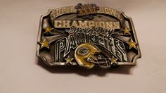 GREEN BAY PACKERS SUPER BOWL XXXI CHAMPIONS LIMITED EDITION BELT BUCKLE