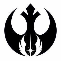 Tatuagem de Geeky Star Wars da Aliança Rebelde e Ordem Jedi Star Wars Tattoo, Tatoo Star, War Tattoo, Book Tattoo, Simbolos Star Wars, Star Wars Gifts, Star Wars Rebels, Star Wars Humor, Bijoux Star Wars