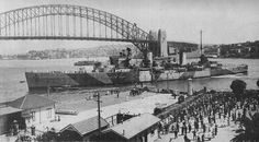"""""""Sydney"""" at Sydney Cove Фото: Public domain / Wikipedia  """"Sydney"""" was one of the light cruisers of the Royal Australian Navy (RAN). Length - 171.4 meters, displacement - nine thousand tons. Equipment: eight 152-millimeter guns, four 102-mm anti-aircraft guns, machine guns and eight torpedo."""