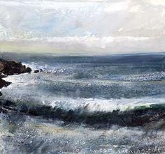 Kurt Jackson - Porthmeor, evening tide