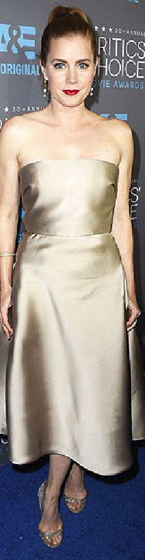 Amy Adams in Max Mara at the 2015 Critics' Choice Awards