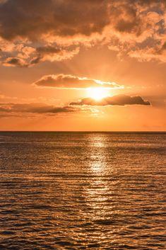 Hawaii Sunset at Electric Beach Electric Beach Oahu, Beach Sunset Wallpaper, Oahu Beaches, Hawaiian Sunset, Sunset Pictures, Sunset Pics, See The Sun, Photo Diary, Hawaiian Islands