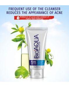 Hot Sale Bioaqua Brand Face Wash Facial Cleanser Nourishing Cleanser Foam Moisturizing Whitening Anti-spots Marks Deep Clean Cosmetics Crazy Price Cleansers