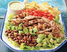Meksika Usulü Tavuk Salatası