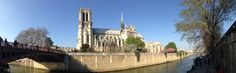View on Notre Dame and La Seine. Pic by The Traveling Belgian.
