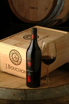 J. Bouchon.....Excellent Chilean wine!!