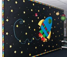 for the father/daughter dance - note use of lanterns for planets!